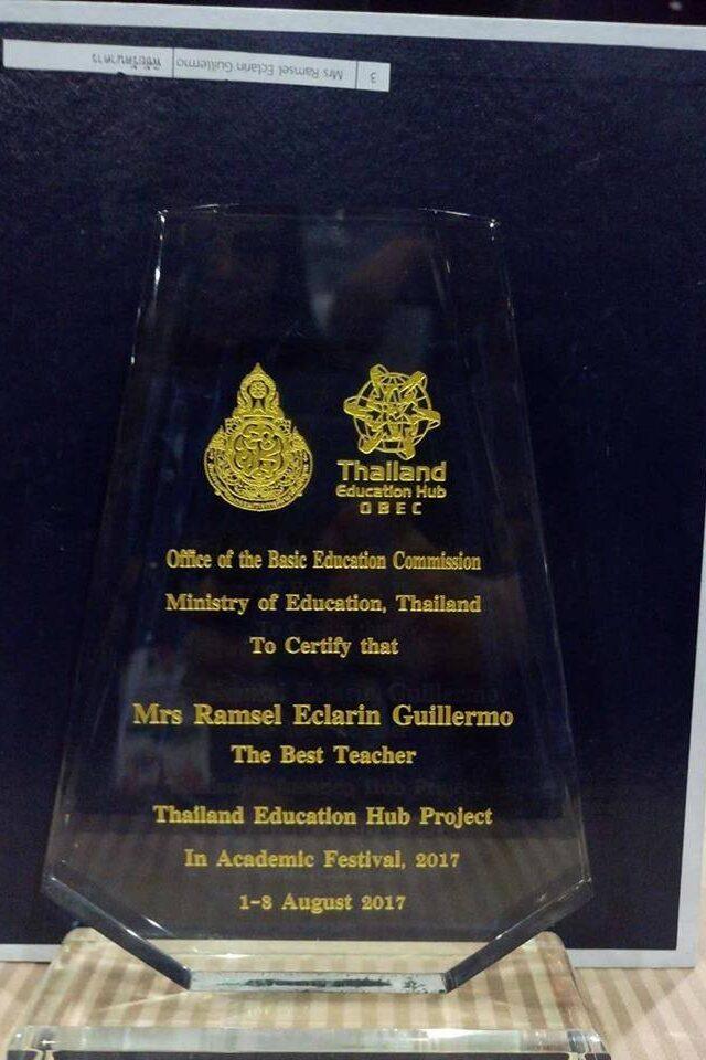best teacher award